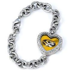 Missouri Tigers Mizzou Women's Heart Watch