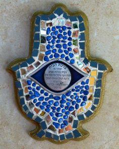 RELI WASSER-ISRAELI ART HAMSA 29