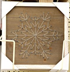 woodland-christmas-string-art-snowflake