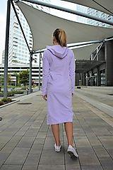 Teplákové šaty Clara Lila s kapucňou a predĺženým rukávom / ajkadizajn - SAShE.sk Dresses For Work, Casual, Fashion, Tunic, Moda, Fashion Styles, Fashion Illustrations
