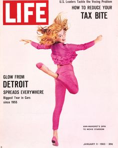 Ann Margret January 11 1963 issue of Life Magazine
