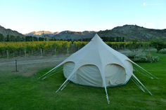 Luxury Tent Camping in New Zealand  — Glampers can travel to whichever location they desire in New Zealand's backcountry. These luxurious portable tents can take guests to some truly breathtaking and historic sites.  #Glamping #GlampingHub #Travel #Explore #Unique #Beauty #NewZealand #NorthIsland #SouthIsland #Tents #Luxury #Nature