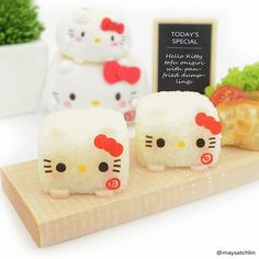 maysatch @maysatch Hello Kitty tofu ...Instagram photo | Websta (Webstagram)