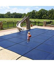 Blue Wave Sports Mesh In Ground Safety Cover Reviews Home Macy S In 2020 Pool Safety Covers Pool Safety Fence Pool Safety