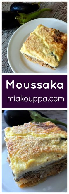 Moussaka.. this Greek traditional recipe is so loaded with delicious flavours, you will not regret making this dish.