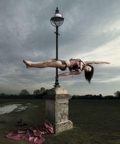 street sign pole dancing
