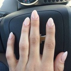 Simple natural nails