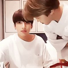 There's no heterosexual explanation for that tbh #Kookmin #Jikook || cr: via GIPHY https://giphy.com/channel/seoulsistersopi