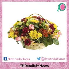 Expresa lo que sientea con un bonito arreglo de flores  #EnviandoFlores #UnHermosoDetalle #LasFloresPerfectas #UnaOcasionEspecial  CANASTA MOCTEZUMA  Vsisita nueatra pagina: http://ift.tt/28ZnP63