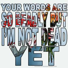 #ForAllThoseSleeping -  I'm Not Dead Yet