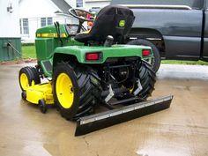 John Deere 318, John Deere Equipment, Lawn Equipment, John Deere Garden Tractors, Garden Tractor Attachments, Landscaping Equipment, Firestone Tires, Small Tractors, Tractor Loader