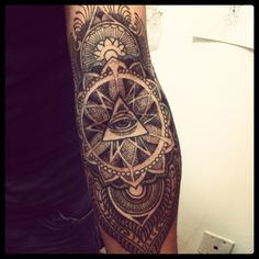 sacred geometry tattoos: Photo