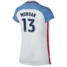2016 Home Alex Morgan Jersey USA Women s Soccer  13 - White Usa Soccer Team f9ba2ad170