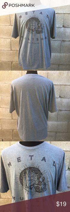 Men's Metal Mulisha SoCal T-Shirt short sleeve. Metal Mulisha SoCal T-Shirt. Size tag missing, please use measurements in pics. Gently used in very good condition. Metal Mulisha Shirts Tees - Short Sleeve