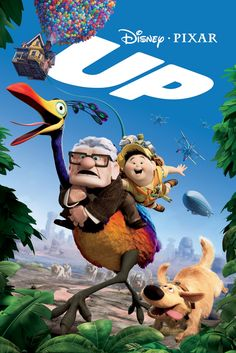 Disney Pixar Movie posters | UP is such a darling Pixar movie. I adore Russell. How could you not?!