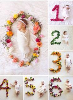 46 Ideas baby photoshoot girl newborn for 2019 Monthly Baby Photos, Newborn Baby Photos, Newborn Pictures, Baby Girl Newborn, Baby Baby, One Month Old Baby, Baby Month By Month, Baby Monat Für Monat, Milestone Pictures