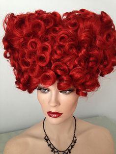 RED QUEEN, Hocus Pocus, Red Costume Wig