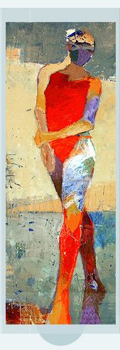 http://www.jyliangustlin.com/ - figurative work. Painterly figures in blocks of color. The figure drawings are unexpected.