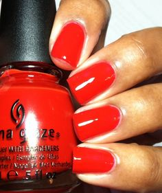 With Love  Bright orange-red creme  - from the Joy collection for holiday 2012