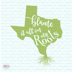 Homeberries Texas Blame It All On My Roots. This is a SVG, DXF, EPS, and JPEG digital download cutting file, which can be imported to a number of paper crafting programs. With this purchase, you will receive a zipped folder containing this image in SVG, DXF, EPS, and JPEG form, suitable for use in Cricut Design Space, Sure Cuts A Lot, Make The Cut, and the Silhouette Basic and/or Designer Edition. PLEASE CHECK WITH YOUR MACHINE'S ABILITY TO USE THESE FORMATS. For Silhouette Cameo, you must…