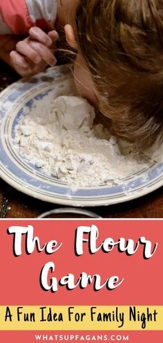 How to Play the FLOUR Game - Perfect Fun Game Night Idea for Family Night or FHE - Such a gross and fun game to play with your family! Teach kids how to play the Flour game with baki - Family Games To Play, Games To Play With Kids, Water Games For Kids, Activities For Kids, Indoor Activities, Home Games For Kids, Kids Fun, Family Kids, Family Home Evening Games