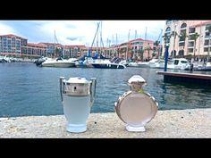 Paco Rabanne Invictus Aqua and Olympea Aqua Comparative - YouTube