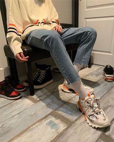 Balenciaga grey Track sneakers