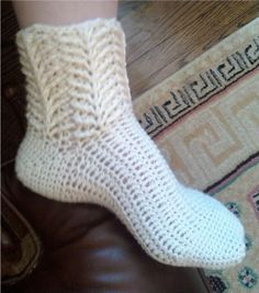 crochet sock pattern @Mary Frisby and now you know what to make everyone for Christmas!
