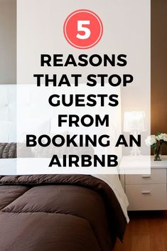 5 Reasons that prevent guests from booking your Airbnb. Check out these host tips to start making money from your Airbnb. rent airbnb vacation vrbo time share vacation home rentals Guest Bedroom Decor, Guest Bedrooms, Guest Room Essentials, Airbnb House, Airbnb Rentals, Vacation Rentals, Guest Bathroom Remodel, Rental Decorating, Air B And B
