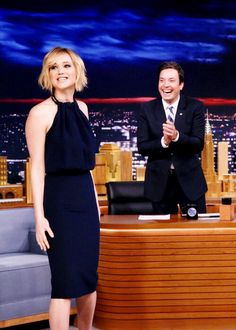 Jennifer Lawrence on The Tonight Show Starring Jimmy Fallon, (May 15).