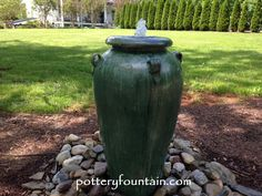 For more info including pricing & videos visit us at  www.potteryfountain.com WE SHIP!