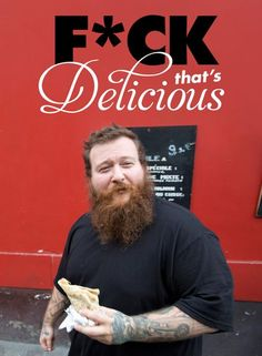 Rapper Action Bronson is very active on instagram, twitter, and his food show on the Viceland Network.
