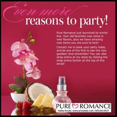 Interested in hosting a Pure Romance Party? Give Kathy Kovak a shout!! c/t 586-662-0021 I'll hook you up with an awesome shopping spree! #pureromance #pureromanceparty #pureromanceparties #unforgettablegirlsnight #prtoylady #prbykathy #kathykovak #girlsnight #ladiesnight #funnight #girlsnightin #ladiesnightin