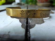 Robot Love Bracelet   ready to ship by patsdesign on Etsy, $15.00