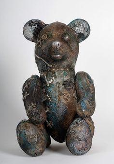 Metalen sculpturen van Drozdov ndrey