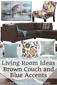 21 Best Brown Sectional decor images | Brown sectional ...
