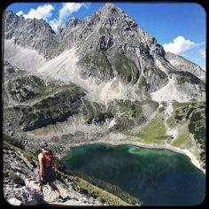 Girls day out. Drachensee - Dragon lake. #soultravels #outdoorgirl #adventuregirl #mindful #munichandthemountains