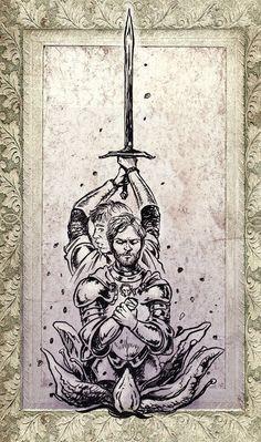 Jaime Brienne for munditia by cabepfir on DeviantArt