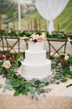 Three tier wedding cake: Photography: One Love - http://www.onelove-photo.com/