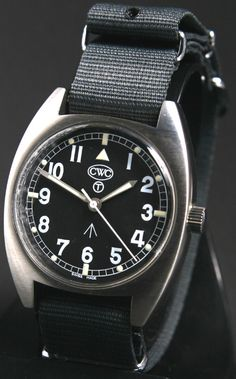 CWC - Cabot Watch Company Mechanical general service watch 1970s