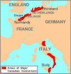 World War II, Map