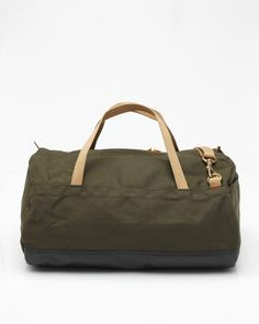 Sturdy cotton duck canvas duffle bag, Archival Clothing
