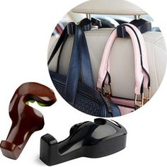 $16 for a Set of Universal Car Back Seat Hook | DrGrab