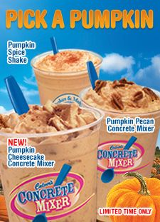 Pumpkin Pie Shakes from Culvers are one of God's greatest gifts to mankind.