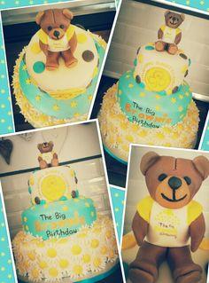 The big brownie birthday cake cake i bake pinterest brownie dundee big brownie birthday cake publicscrutiny Images