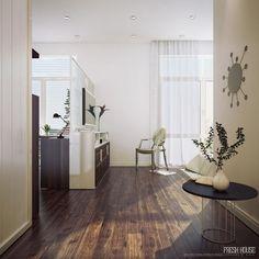 Contemporary Bedroom Office