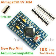 10pcs Pro Mini ATMEGA328 5V 16M Replace ATMEGA128 Arduino Compatible Nano - 54$