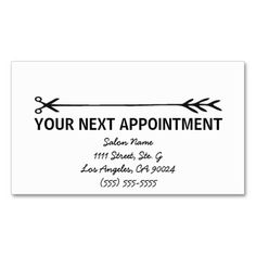 Bohemian gold antlers ii appointment card business card template stylist business cards wappointment reminder business cards this great business card design is colourmoves Images