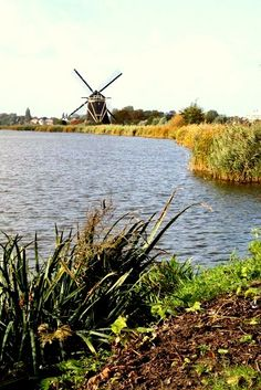 Rotterdam - Molen de Madelief, aan de Rotte