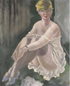 Lotte Schmalhausen, 1928 by George Grosz, (German Kasimir Und Karoline, George Grosz, New Objectivity, Degenerate Art, Vintage Artwork, Art Themes, Art For Art Sake, Pulp Art, Dibujo